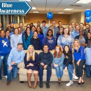Colon Cancer Awareness at Covenant Surgical Partners - Dress in Blue Day